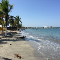 Photo taken at Playas Coveñas by Javier S. on 12/22/2015