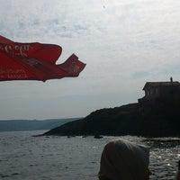 Photo taken at Garipçe by Mete Ertunç S. on 10/7/2014