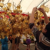 Photo taken at Wat Lahan by ploysjell on 6/1/2015