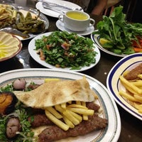 Photo taken at Al Sham Rose Restaurant ( Arabic And Syrian Food) by Julia T. on 6/3/2014