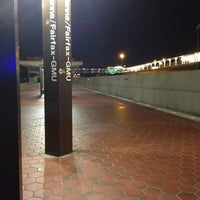 Photo taken at Vienna/Fairfax-GMU Metro Station by A C. on 3/4/2013