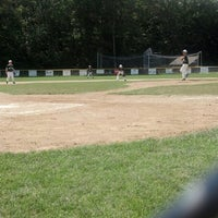 Photo taken at EMC Baseball Fields by Dexter S. on 7/14/2013