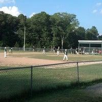 Photo taken at EMC Baseball Fields by Dexter S. on 7/8/2013