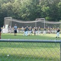 Photo taken at EMC Baseball Fields by Dexter S. on 6/28/2013