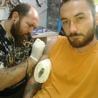 Photo taken at Billy Tattoo by Selim S. on 11/7/2013