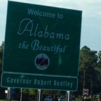 Photo taken at Alabama / Florida State Line by Larry R. on 10/4/2013