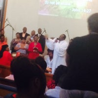Photo taken at Zion Travelers M B Church by Yours T. on 6/29/2014