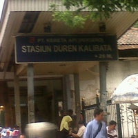 Photo taken at Stasiun Duren Kalibata by masbrago on 7/17/2013