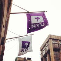 Photo taken at New York University by EatMeDrinkMeNYC on 2/5/2013