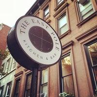 Снимок сделан в The East Pole - Kitchen & Bar пользователем EatMeDrinkMeNYC 10/28/2013
