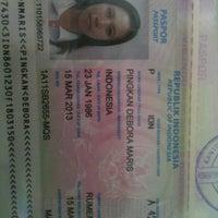 Photo taken at Kantor Imigrasi Kelas I Manado by Poppy P. on 3/22/2013