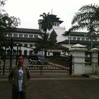 Photo taken at Kantor Gubernur Jawa Barat by Poppy P. on 1/25/2013