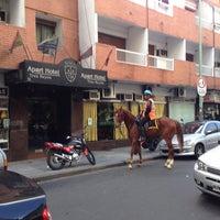 Photo taken at Policia Federal Argentina Departamento Central de Policia by Yevgen G. on 10/4/2013