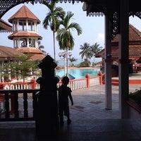 Photo taken at Teluk Dalam Beach Resort by Екатерина Р. on 2/19/2014