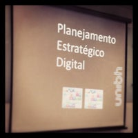 Photo taken at Pós Graduação - Marketing Digital e Mídias Sociais by Thata S. on 7/5/2013