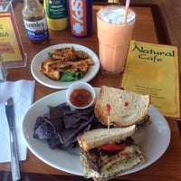 Photo taken at Natural Cafe by Noah P. on 4/4/2015