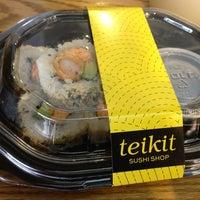 Foto diambil di Teikit Sushi Shop oleh Melissa Q. pada 7/9/2013
