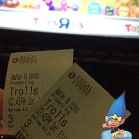 Photo taken at Regal Cinemas Hadley Theatre 16 by hey_emzz on 11/12/2016