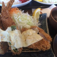 Photo taken at 旨いとんかつ カツ亭 by lupo223 on 7/5/2014