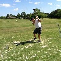 Photo taken at Elkins Lake Golf Course by Jennifer D. on 4/21/2013