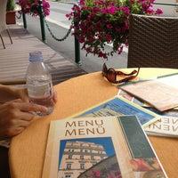 Photo taken at Restaurant hotelu Růže by Harry D. on 7/15/2014