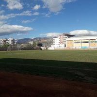 Photo taken at Mut İlçe Stadyumu by Okkan Ö. on 3/24/2018