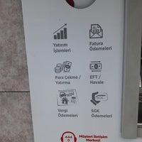 Photo taken at Ziraat Bankası by Okkan Ö. on 1/18/2018