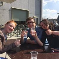 Photo taken at Universiteit Antwerpen - Campus Groenenborger by Yinka D. on 3/28/2017