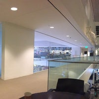Photo taken at MIT Media Lab — Wiesner Building (Building E15) by Amber C. on 1/17/2017
