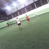 Photo taken at Hamilka Arena Soccer by Petrus L. on 2/27/2014