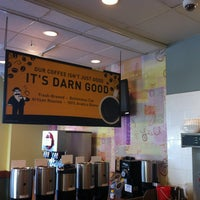 Photo taken at Einstein Bros Bagels by Samuel O. on 1/27/2013