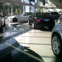 Photo taken at Mercedes-Benz Hermer by Bruno G. on 10/15/2012