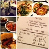 Photo taken at Beef & Liberty by Brian Y. on 8/19/2014