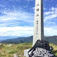 Photo taken at 三峰山 by take on 9/25/2016