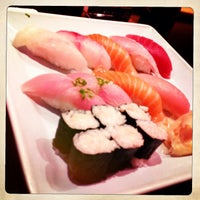 Photo taken at Monster Sushi by Jimi S. on 6/30/2013