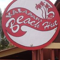 Photo taken at Kalapaki Beach Hut Burgers by Nick O. on 2/6/2013