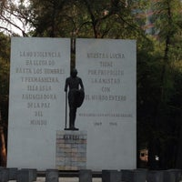 Photo taken at Parque Gandhi by Luis M. on 5/10/2013