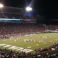 Photo taken at Sanford Stadium by David P. on 11/24/2013