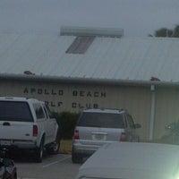 Photo taken at Apollo Beach Golf Club by Tony R. on 11/16/2012