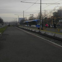 Photo taken at Poliklinika (tram, bus) by Haňulka P. on 1/17/2014