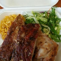 Photo taken at Island Eats Hale 'Aina by Leilani M. on 8/7/2015