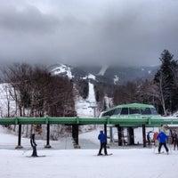 Photo taken at Cannon Mountain Ski Area by Taylor M. on 1/17/2013
