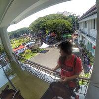 Photo taken at Balai Kota Malang by Roro I. on 10/16/2016