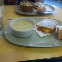 Photo taken at Panera Bread by Cristina N. on 4/25/2014