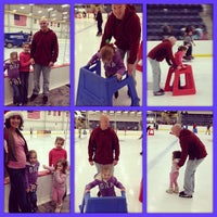 Photo taken at Columbus Ice Rink by Christopher S. on 12/22/2013