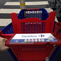 Photo taken at Carrefour hypermarché by Ludivine V. on 5/8/2014
