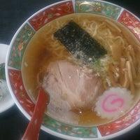 Photo taken at 修ちゃんラーメン寒河江店 by 武田 貴. on 2/18/2014