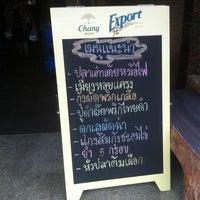 Photo taken at Paknam Seafood by Thanachai C. on 8/27/2013