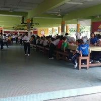 Photo taken at Sekolah Kebangsaan Puchong Jaya by Erwan M. on 4/3/2014