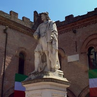 Photo taken at Piazza Guercino by GL on 6/2/2015